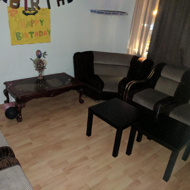 Couch Set with Table