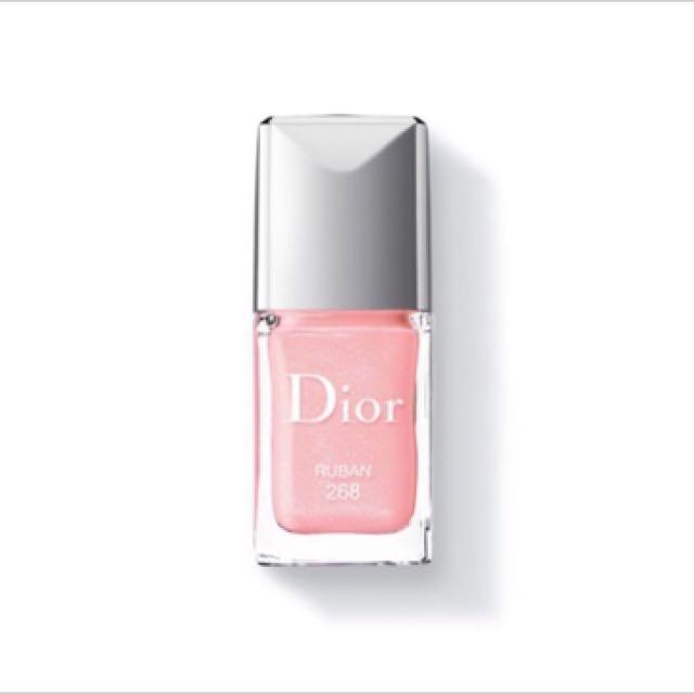 Dior 指甲油 全新 #268