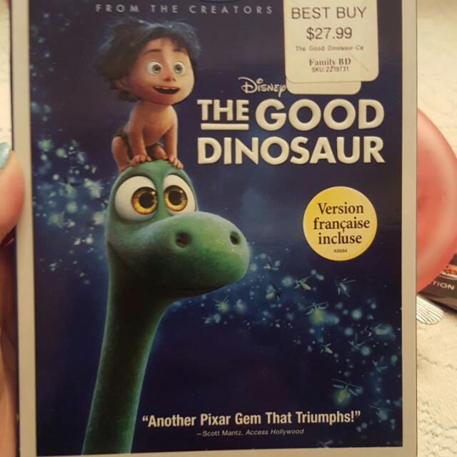 "Disney's  ""The Good Dinosaur"" Blu-ray DVD"
