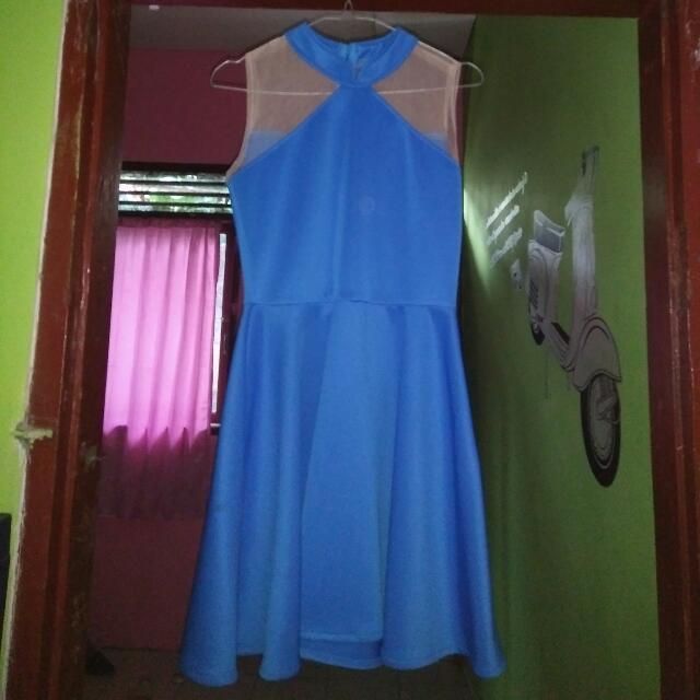 Dress biru 150