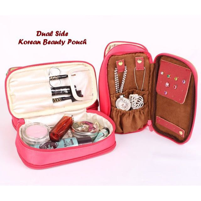 Dual Side Buauty Pouch
