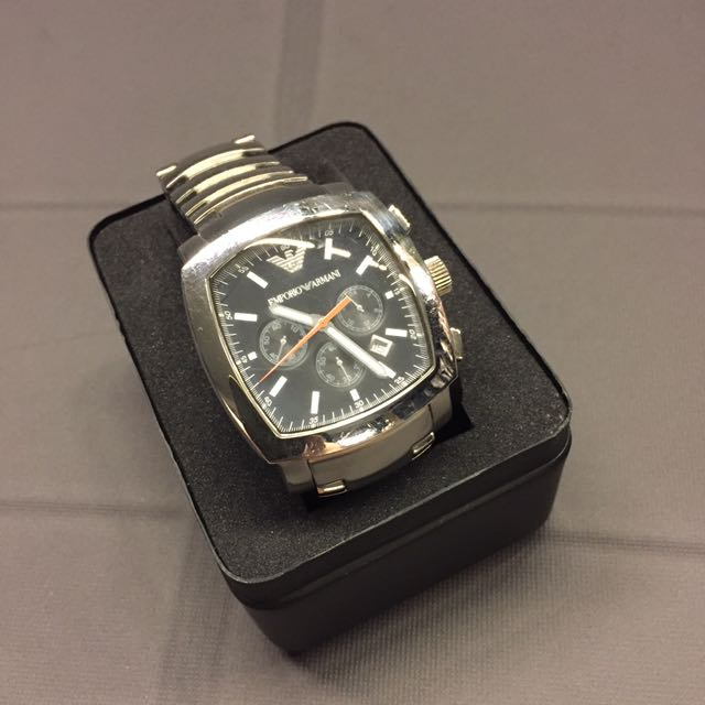 Authentic Emporio Armani Square Face Watch Luxury Watches On Carousell