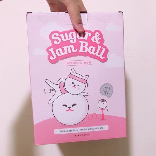 ⭐️Etude house 瑜伽球~Sugar & Jam Ball