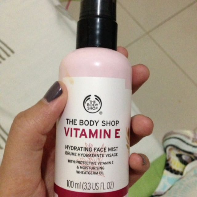 face mist the body shop