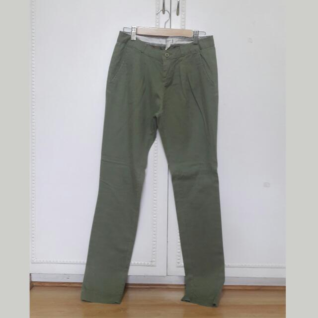 Forever 21 Army Green Pants