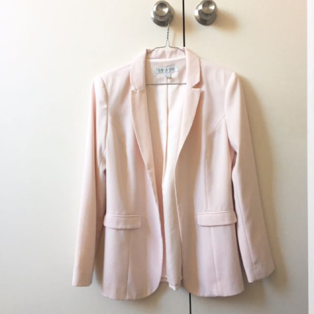 Forever New Baby Pink Blazer
