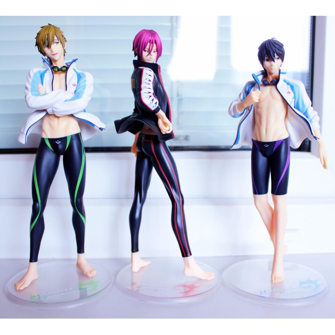 Free! Series Alter ALTAiR 1/8 Figures Tachibana Makoto / Haruka Nanase / Matsuoka Rin (Set of 3)
