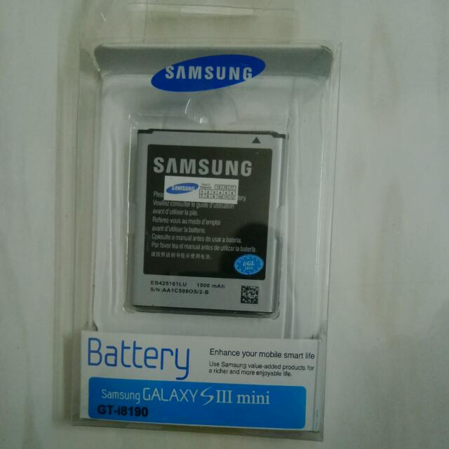 Genuine Samsung Galaxy S3 Mini / Trend Battery.