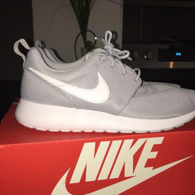 Grey Nike Roshe. Size 8.5