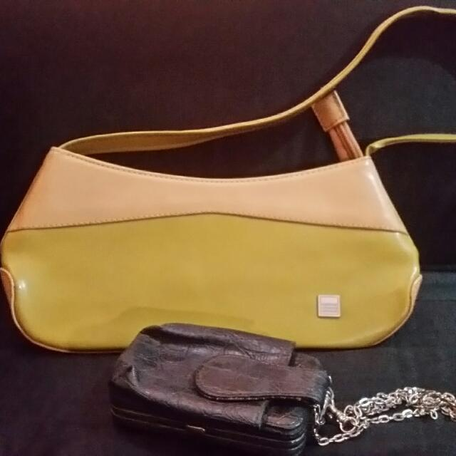 Hand Bag And Sling Pouch
