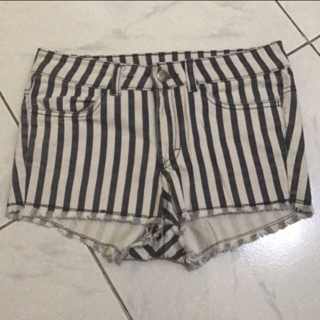 H&M Stripes Shorts