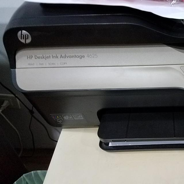 Hp4625 Ink Advantage With Wireless Printing Print Fax Scan