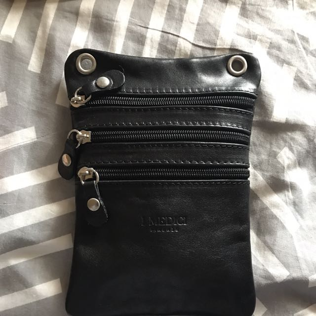 ITALIAN LEATHER POUCH/Bag
