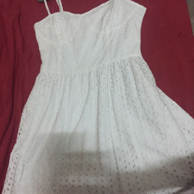 Just G White Dress