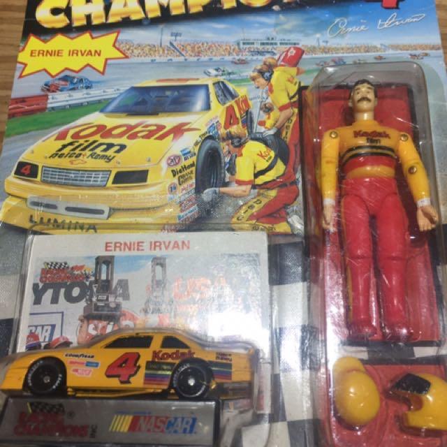 Kodak 柯達 賽車模型玩具車 加賽車手