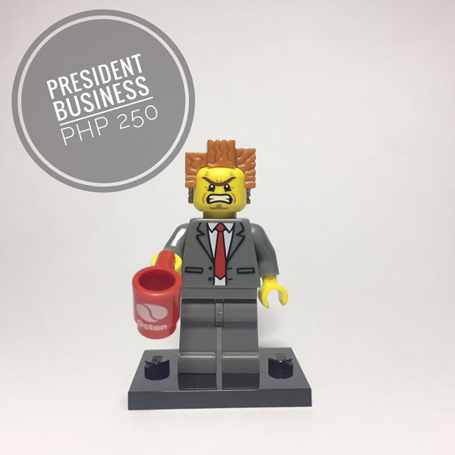 Lego Minifigure President Business