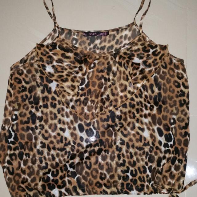 REPRICED LEOPARD TOP