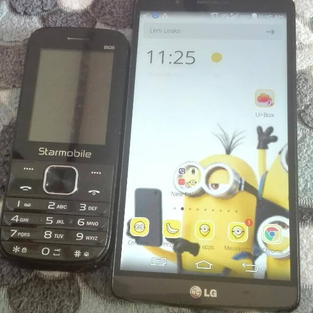 Lg and Starmobile paclage