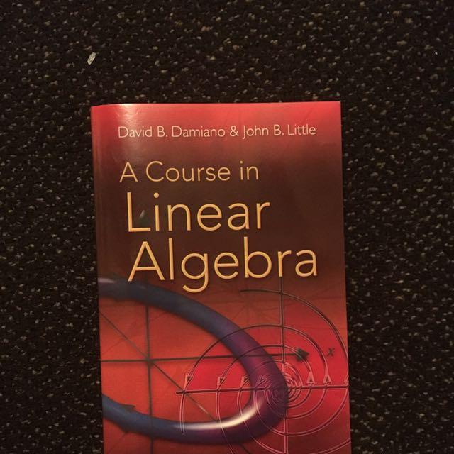 Linear Algebra MAT224
