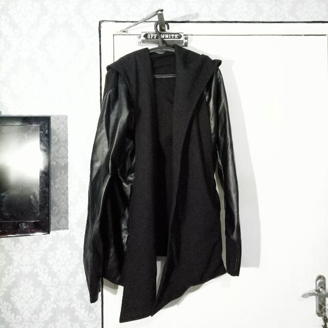 Long Loose Hoodie Outer