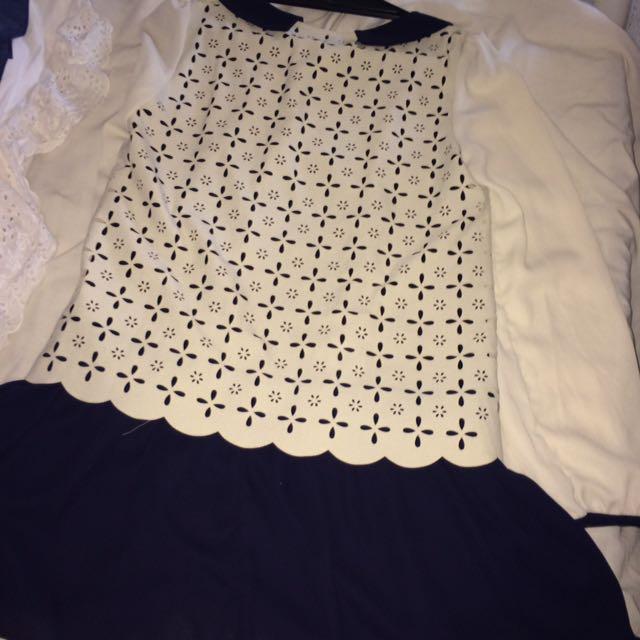 Long Sleeved Shirt/dress