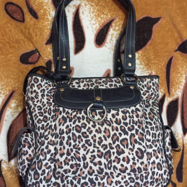Maxx New York Leopard print bag