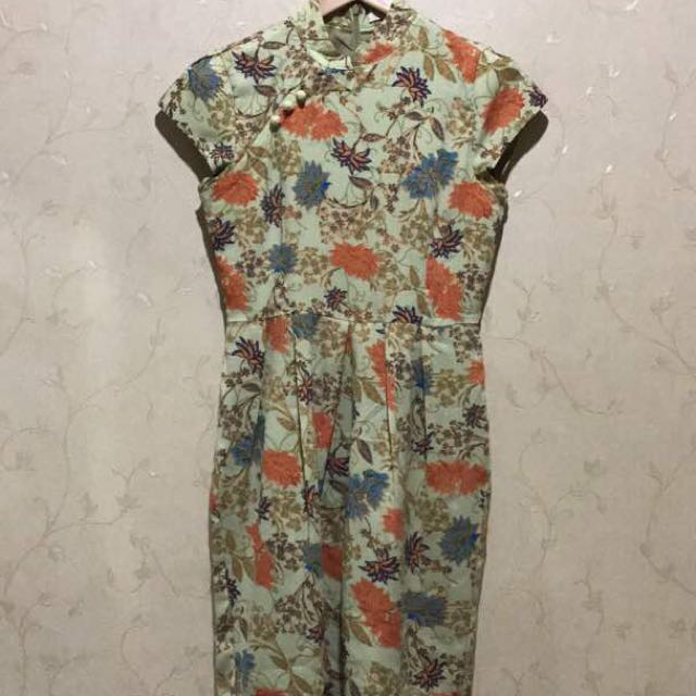 Minimal Ciongsam Dress