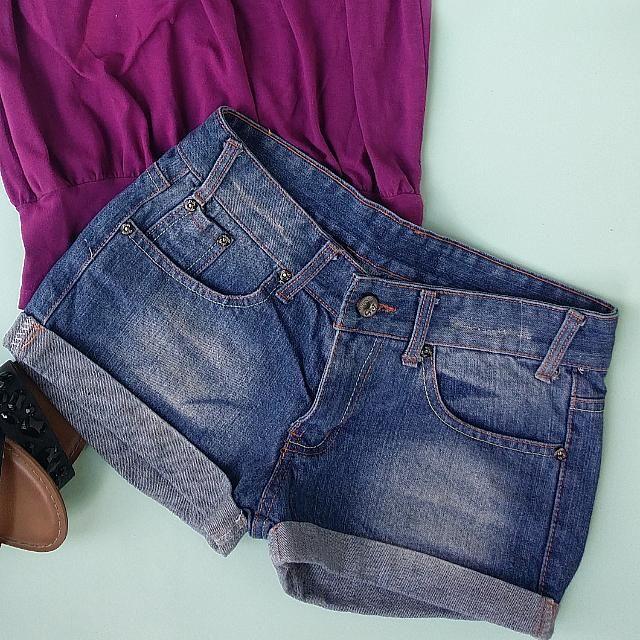 Nafnaf Maong Shorts