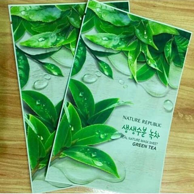 Nature Republic Green Tea Face Mask