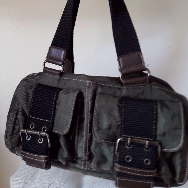 Olive green Sporty Ninewest Bag