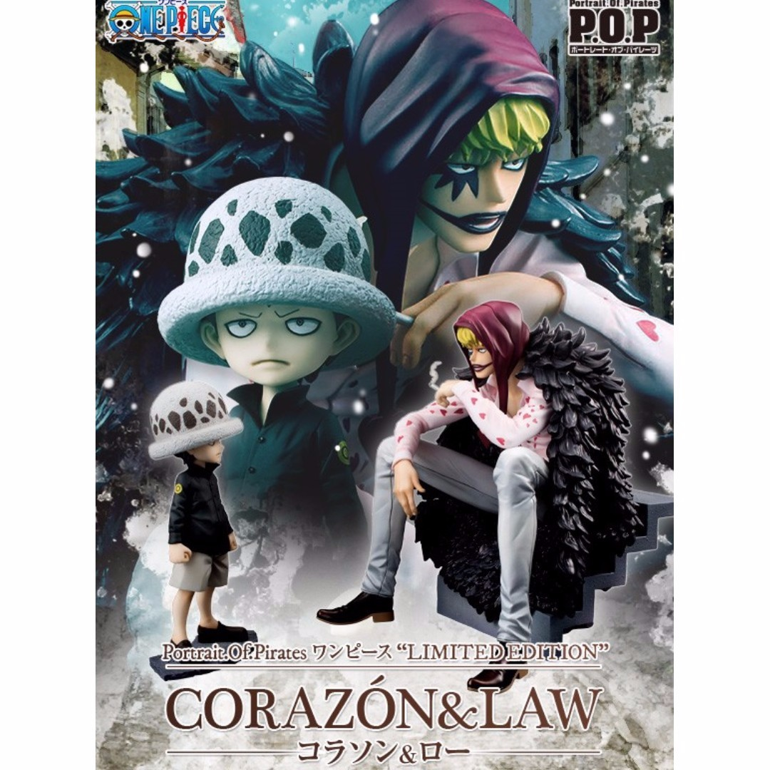 One Piece P.O.P Limited Edition Corazon & Trafalgar Law