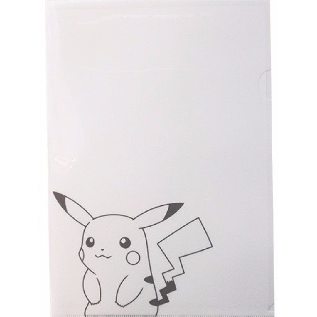 Pokémon Center Pikachu A4 Clear File