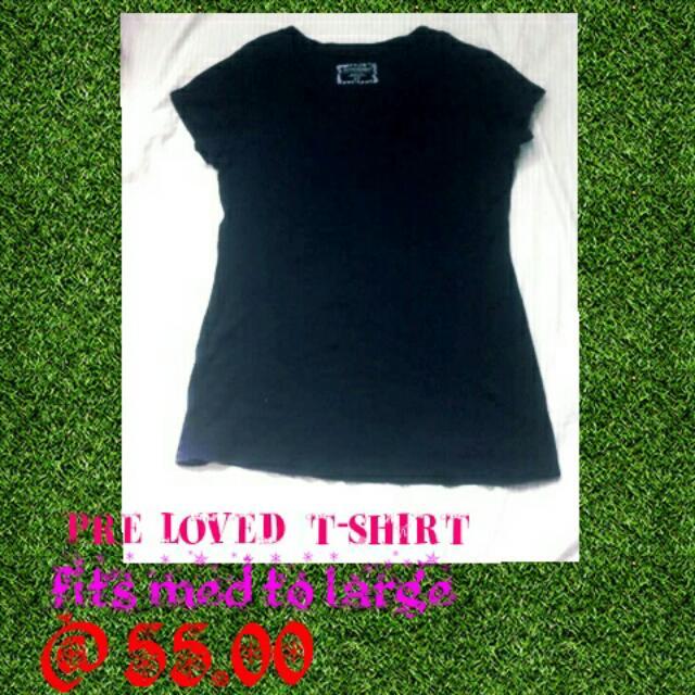 pre loved t-shirt