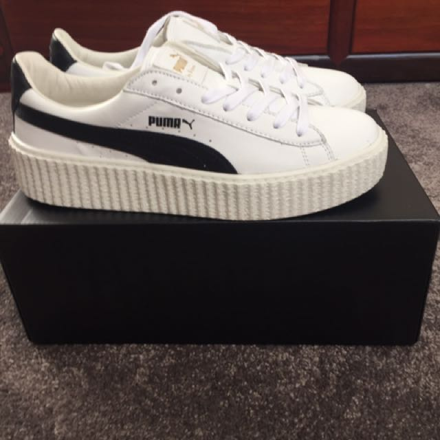 Puma x Fenty Rihanna Black And White Creepers