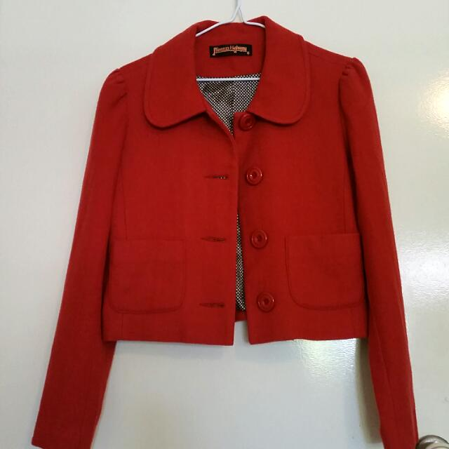 Red Princess Highway Coat