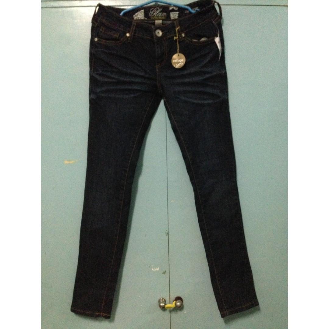 4ef8a14dd0a Refuge by Charlotte Russe Glam Ultra Skinny Denim Jeans Size 28 SALE ...
