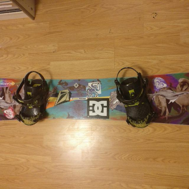 Roxy Snowboard & Ride Bindinga