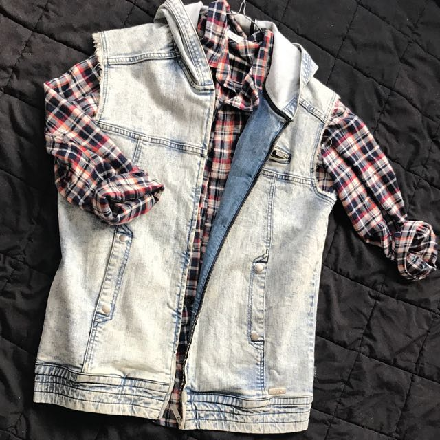 RPM Denim Vest
