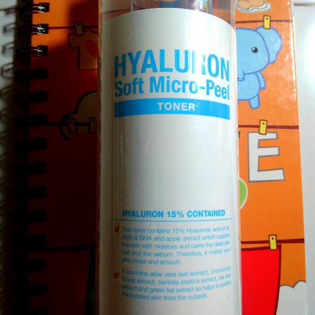 Secret Key Hyaluronic Soft Micro Peel Toner