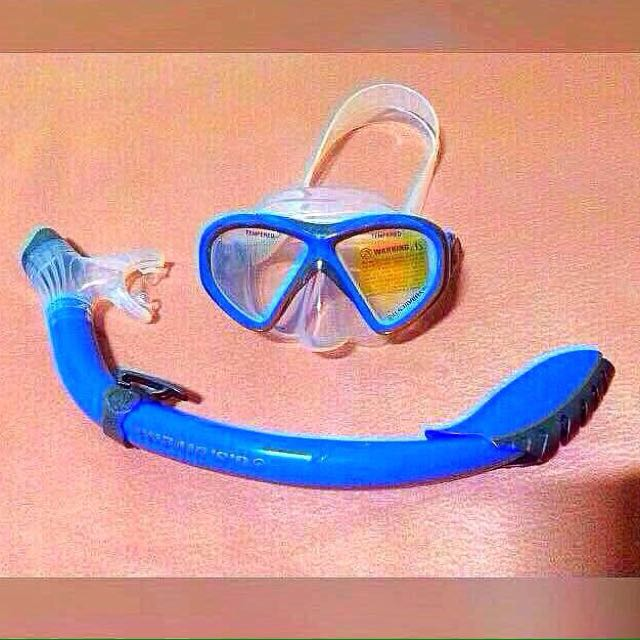Snorkeling Gear Large #Swimwear #Beachwear #Rashguard #swimming #goggles