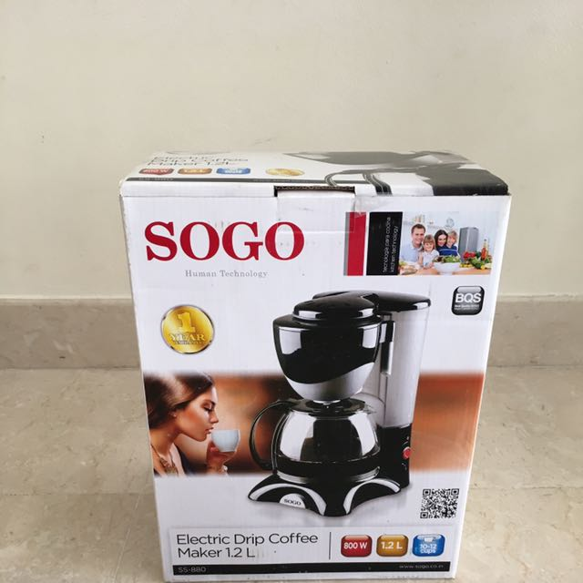 SOGO Electric Drip Coffee Maker