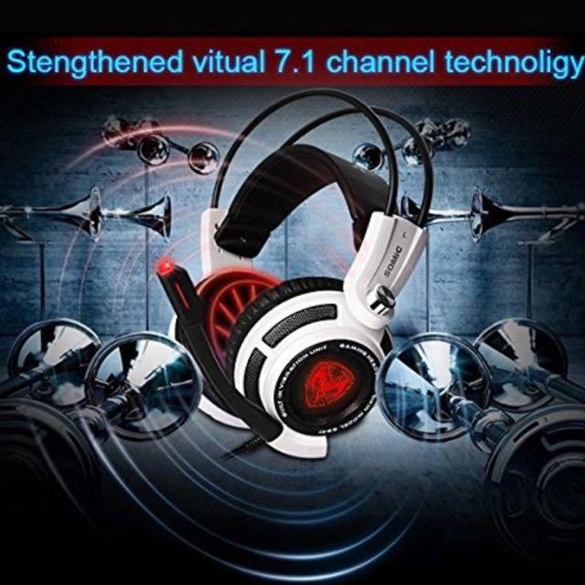 4ed36305310 Somic G941 USB Gaming Headset Virtual 7.1 Surround Sound Effect Bass ...
