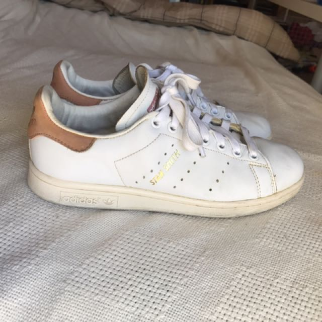 Stan Smith - White And Ray Pink