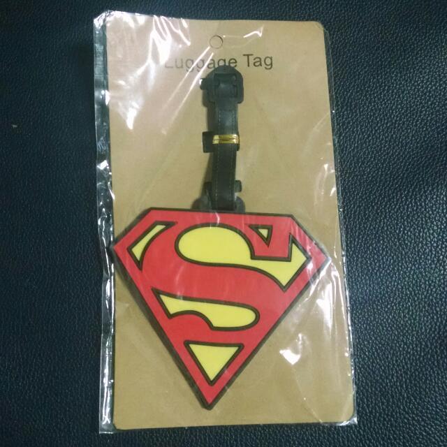 Superman Luggage Bag Tag
