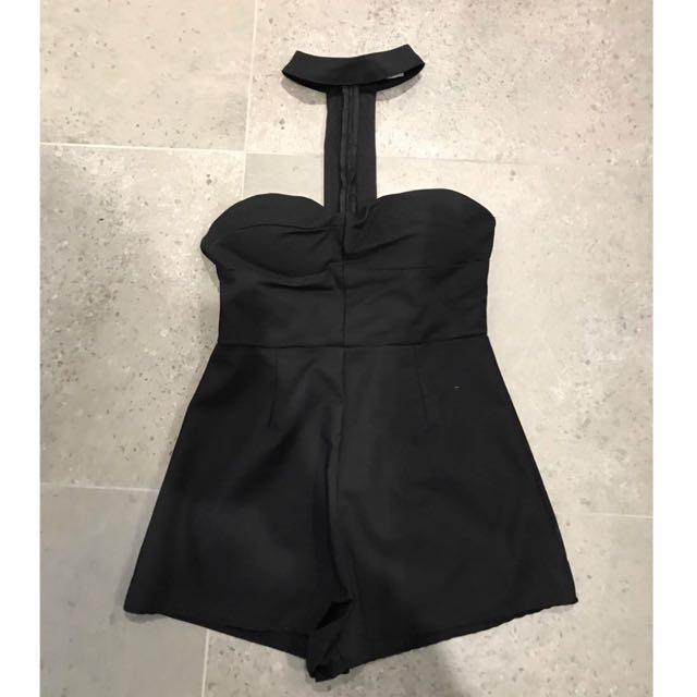 Temt Black Jumpsuit