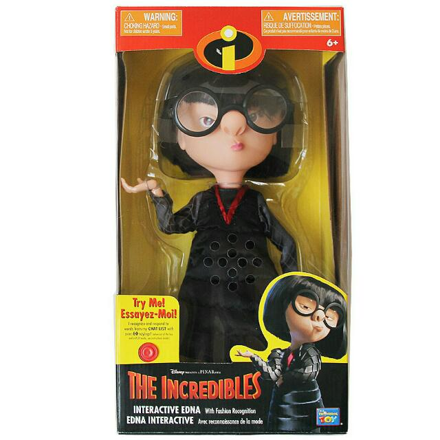 The Incredibles Edna Mode Doll