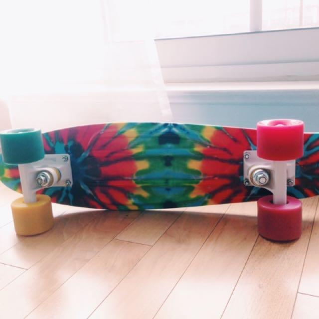 Tie-Dye Penny Board