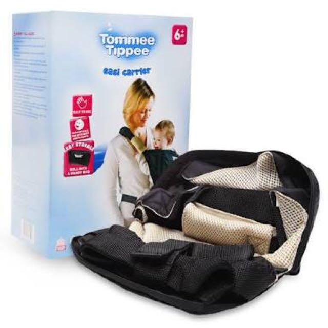 Tommee Tippee Baby Gendongan Bayi Easy Carrier Bisa Jadi Handy Bag - Hitam