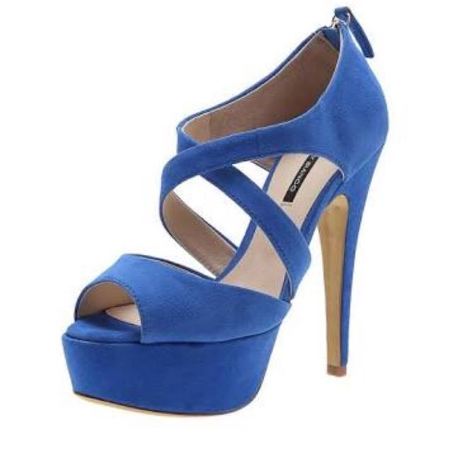 Tony Bianco Leather Upper Heels, Size 9