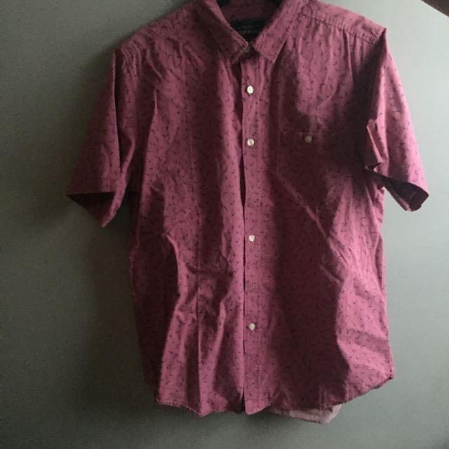 REPRICED! TOPMAN button down shirt